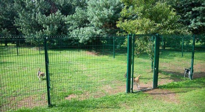 Preventivo cancello carrabile in rete metallica per for Costruire recinto per cani