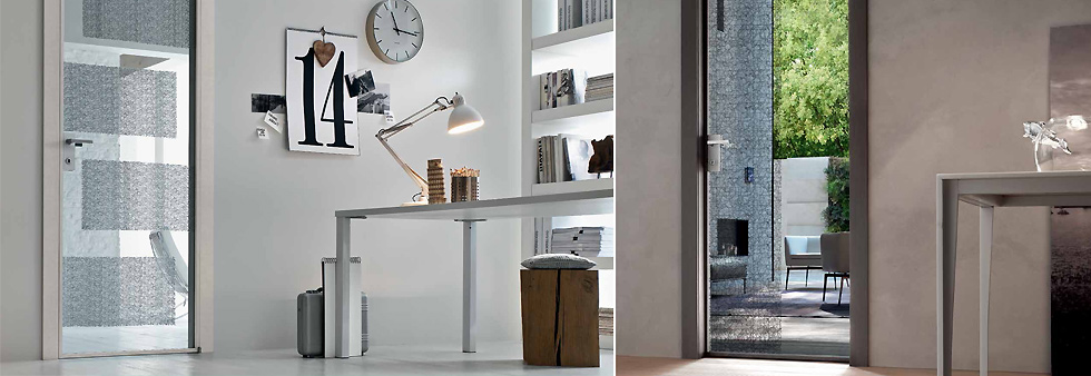 Listino prezzi porte interne vetro e alluminio for Listino prezzi infissi in alluminio