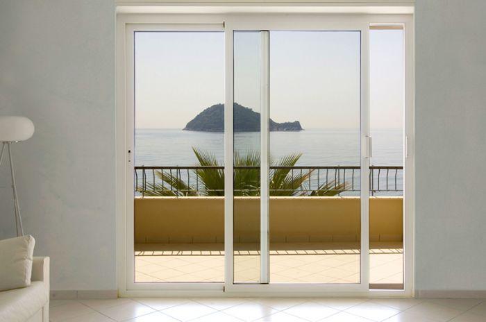 Preventivo finestra in alluminio taglio termico 2 ante for Finestra 3 ante scorrevoli