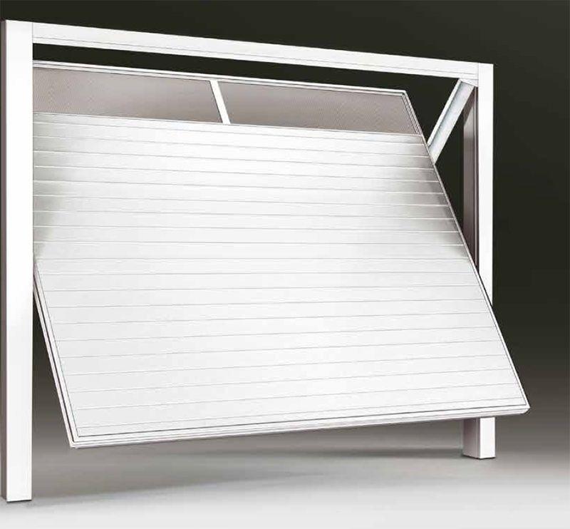 Porta basculante in pvc per garage bologna - Prezzo porta basculante garage ...