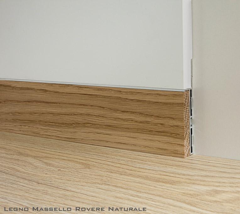 Preventivo battiscopa in legno incassato raso muro bologna for Battiscopa filo muro