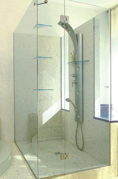 Preventivo anta apribile tutto vetro per box doccia bologna - Box doccia un anta ...
