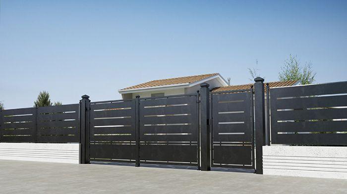 Preventivo recinzione in ferro battuto con pannello for Ringhiere prefabbricate prezzi