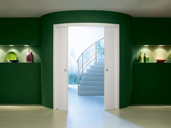 Preventivo controtelaio curvo per porte scorrevoli parete - Controtelaio porta battente cartongesso ...