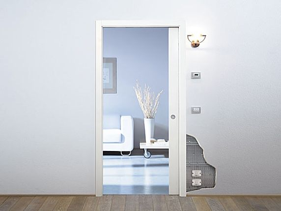 Preventivo controtelaio unico luce per porte scorrevoli parete cartongesso bologna - Porte in cartongesso ...