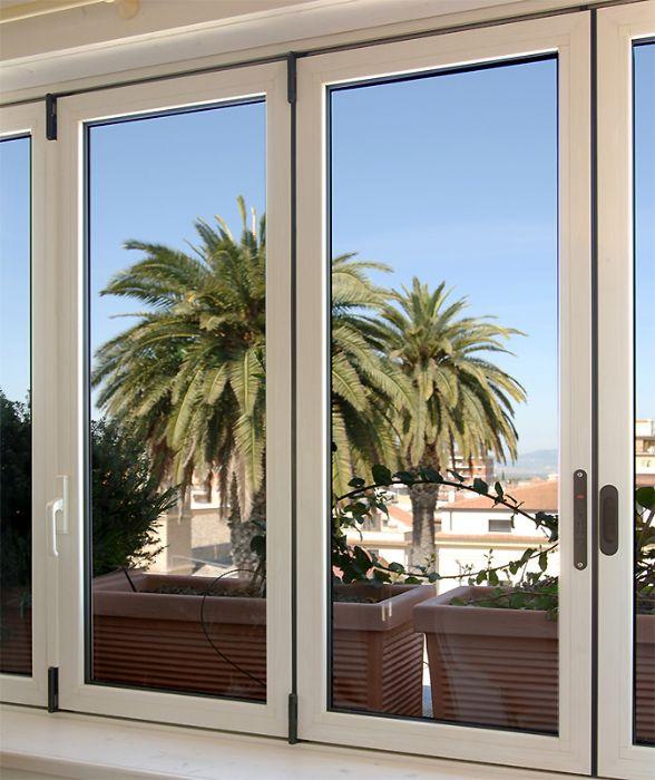 Preventivo finestra in alluminio taglio termico apribile a for Preventivo finestre alluminio