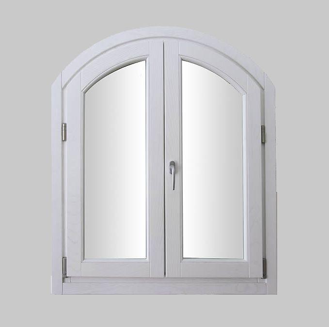 Preventivo finestra in legno 2 ante bologna for Finestra legno bianco