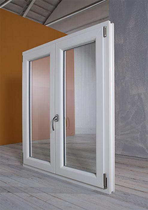 Finestra pvc 2 ante con sottoluce bologna - Pvc finestre prezzi ...