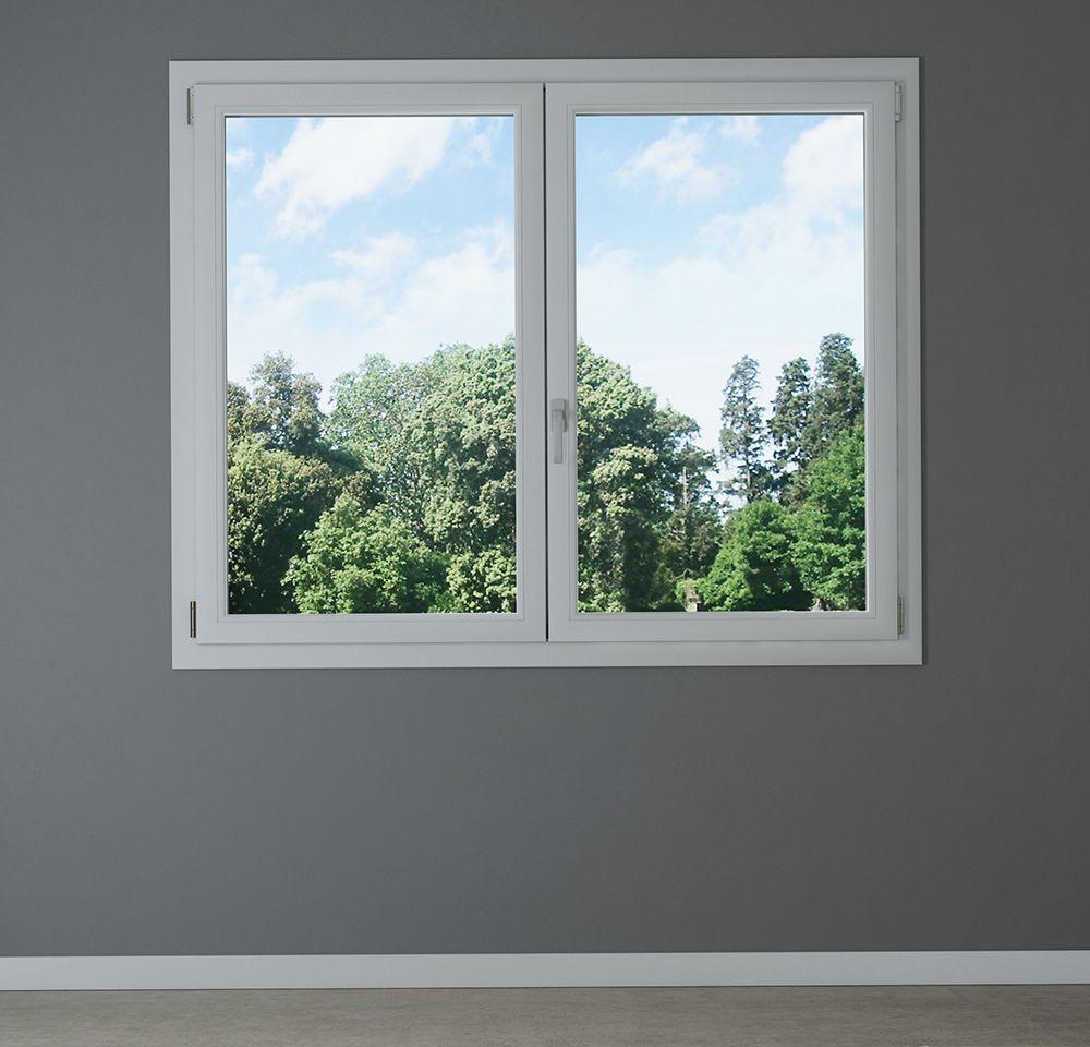 Finestra pvc 2 ante con ribalta bologna - Smontare maniglia finestra senza viti ...
