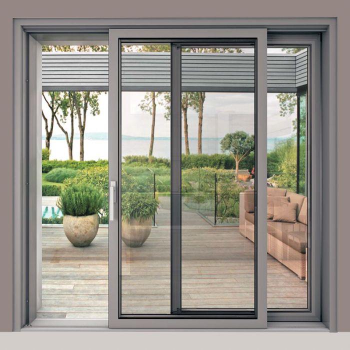 Finestra in acciaio scorrevole alzante blindate bologna - Porta finestra blindata ...