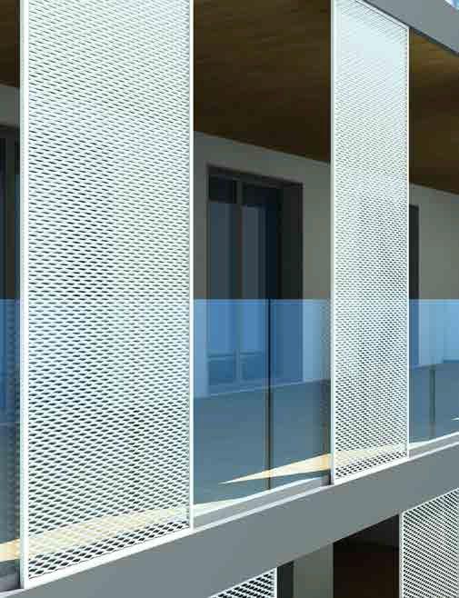 Preventivo frangisole con grigliato in alluminio fisso e - Griglie da esterno ...