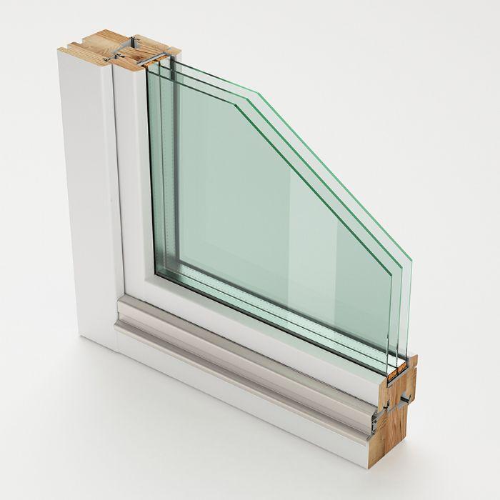 Finestra fissa in legno bologna - Finestre triplo vetro ...