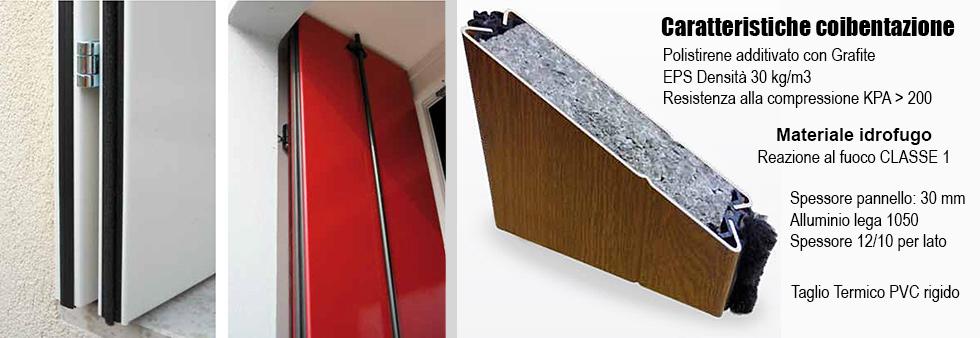 Listino prezzi scuri in alluminio a taglio termico for Listino prezzi infissi in alluminio
