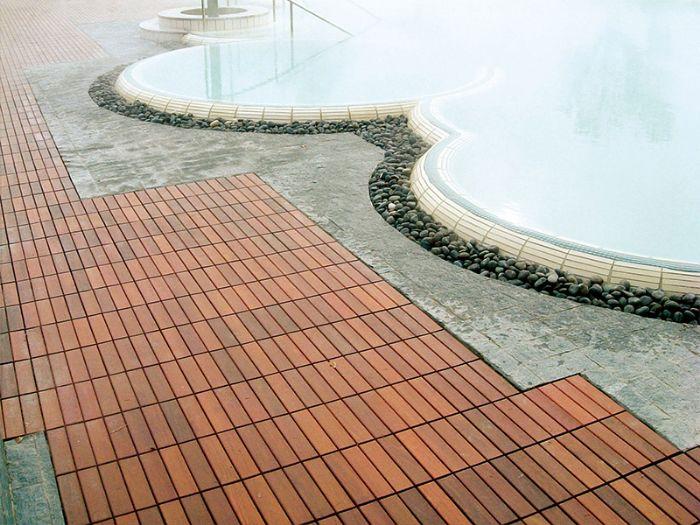 Preventivo pavimento in legno essenza ipe per esterni bologna