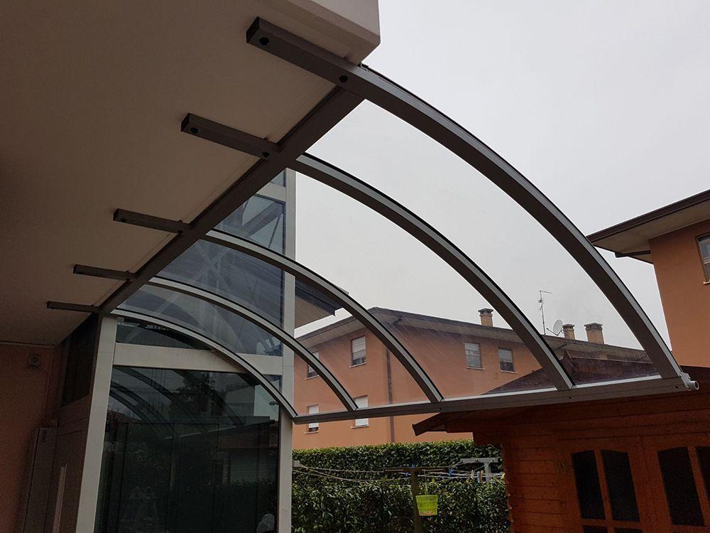 Copertura Terrazzi Trasparenti. Trendy Veranda Trasparente With ...