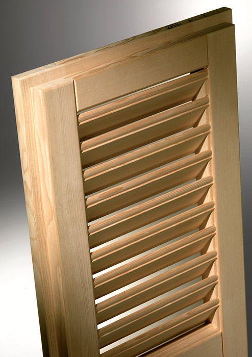 Lamelle in legno per persiane idee immagine mobili - Mobili a persiana ...