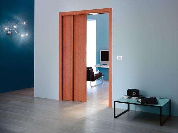 Preventivo controtelaio per porte scorrevoli 2 ante parallele parete cartongesso bologna - Porte scorrevoli interno muro prezzi ...