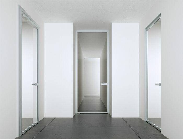 Preventivo porta interna tutto alluminio e vetro apribile - Porta interna vetro ...