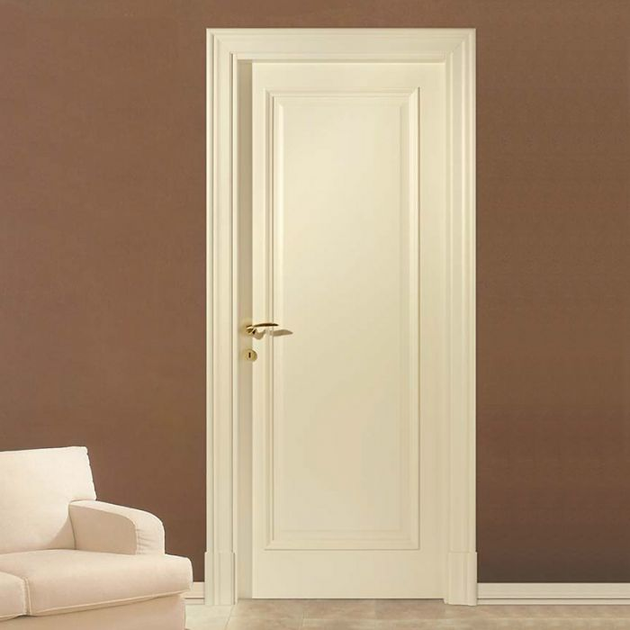 Porte interne classiche bianche pannelli termoisolanti - Modelli porte interne legno ...