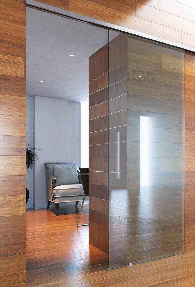 Preventivo porta in vetro scorrevole 1 anta con binario minimale bologna - Porta vetro scorrevole prezzo ...