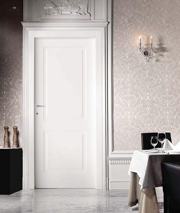 Porta interna in laminato linea classica 2 bugne bologna - Porte con bugne ...