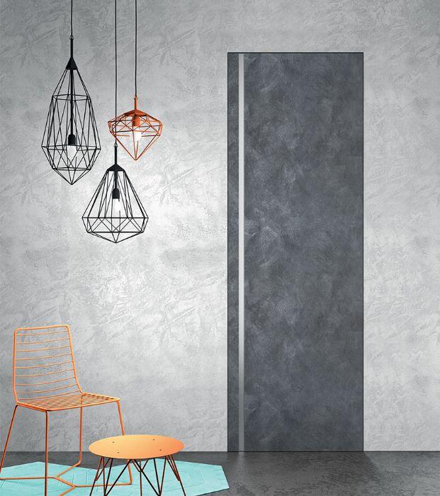 Preventivo porta interna in resina effetto spatolato bologna - Altezza maniglia porta ...