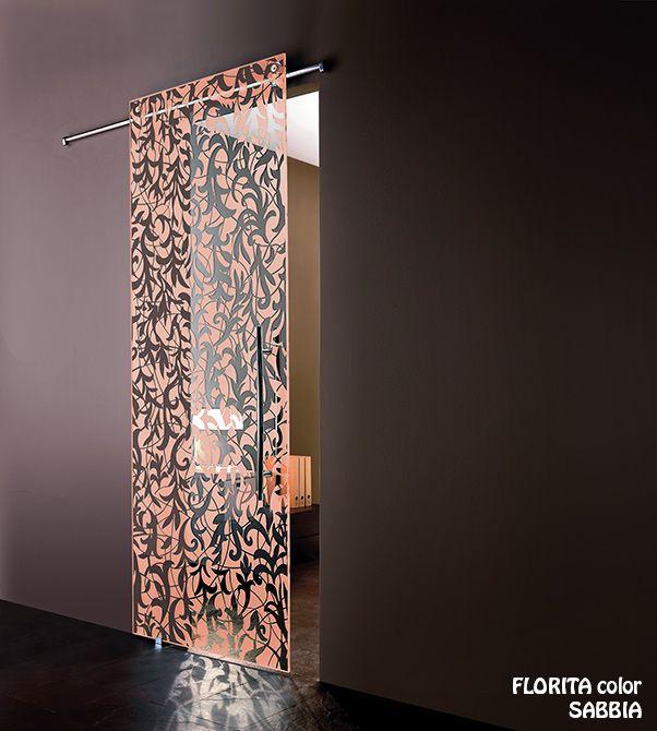 Porta tutto vetro florita color bologna - Casali porte scorrevoli prezzi ...