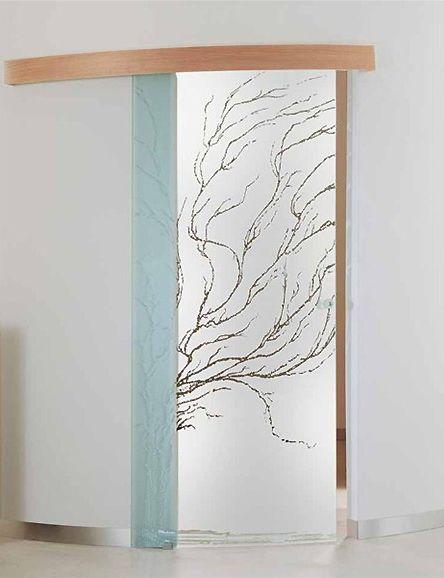 porta-tutto-vetro-inciso-sabbiato-mod.-albero-bologna - Disegni Porte Vetro Satinato