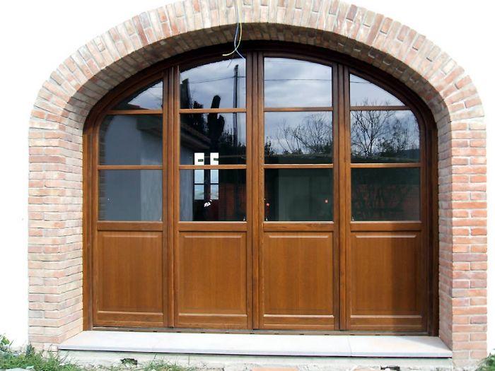 Preventivo portefinestra in legno 2 ante bologna - Porte per archi ...