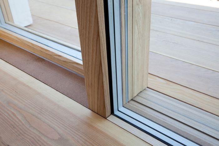 Finestra scorrevole alzante in legno complanare minimale - Ferramenta per finestre ...
