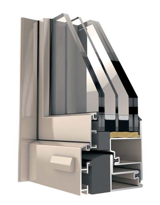 Finestre a taglio termico prezzi serramenti alluminio cor for Serramenti in alluminio prezzi mq