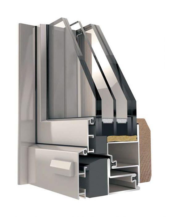 Finestre in acciaio 2 ante blindate bologna - Costo finestre in legno ...