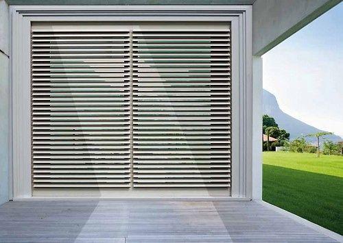 Tapparella in alluminio frangisole motorizzata bologna - Serrande per finestre prezzi ...