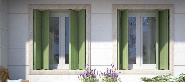 Scuretto 3 ante a libro in alluminio per finestra bologna - Costruire una finestra in alluminio ...