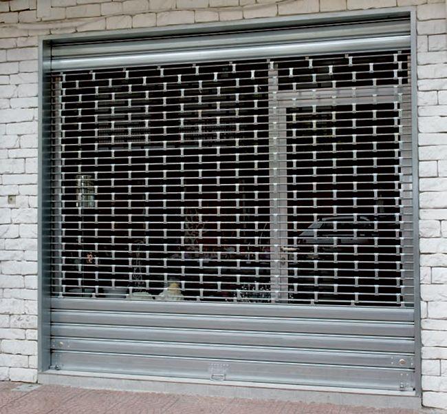 Serranda di sicurezza per negozi e garage standard bologna - Serrande per finestre prezzi ...