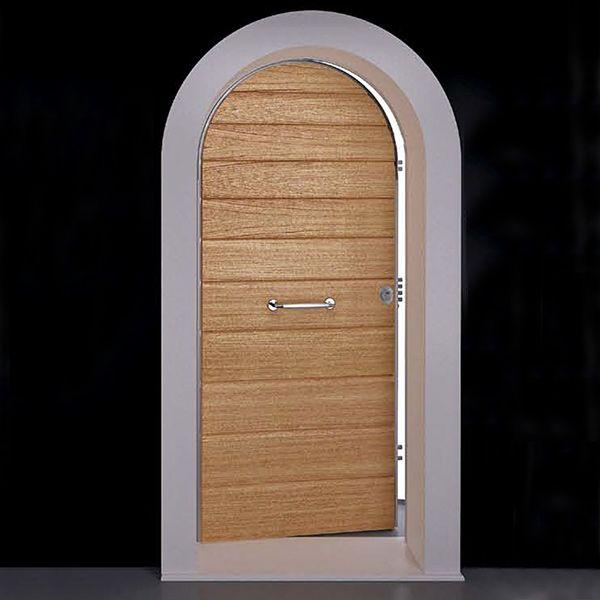 Porta blindata 1 anta ad arco classe 4 bologna - Porte ad arco ...