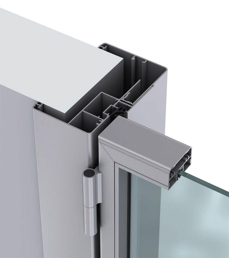 Preventivo porta interna in alluminio vetro per uffici bologna for Cornici per foto in vetro