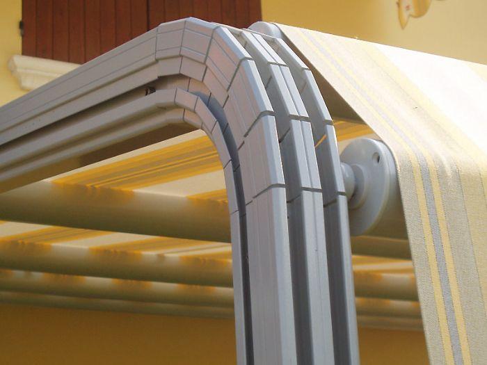 Tende Per Esterni Bologna.Preventivo Tenda Da Sole A Pergola Linea Comoda Bologna