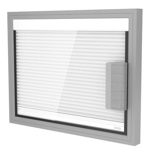 Pannello Solare Con Vetro Rotto : Preventivo tenda plissé blackout interno vetro motorizzata