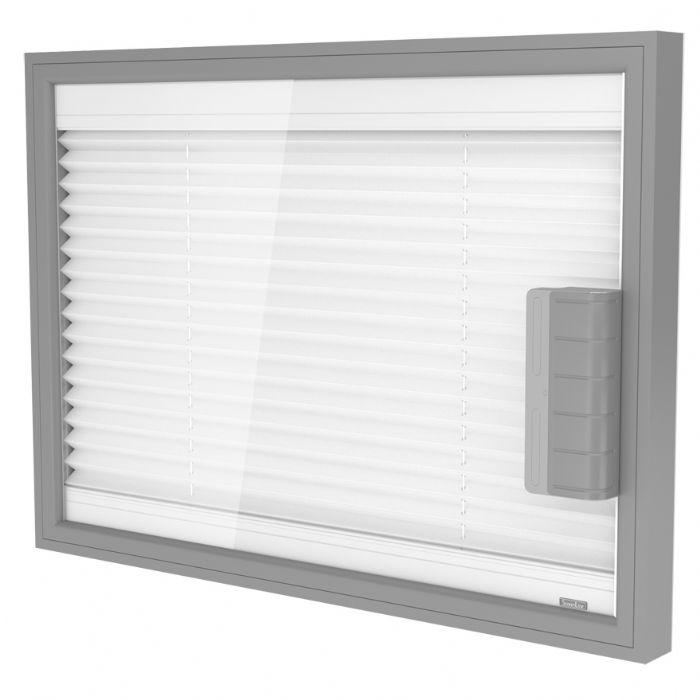 Pannello Solare Con Vetro Rotto : Preventivo tenda plissé interno vetro motorizzata con
