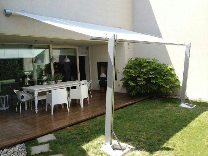 Tenda A Vela Quadrata : Preventivo tenda vela quadrata a parete bologna