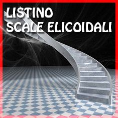 PREVENTIVO Scala elicoidale in cemento diametro 200