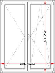 Dimensioni Porta Finestra A Due Ante.Larghezza Porta Finestra A Due Ante Terminali Antivento Per Stufe A