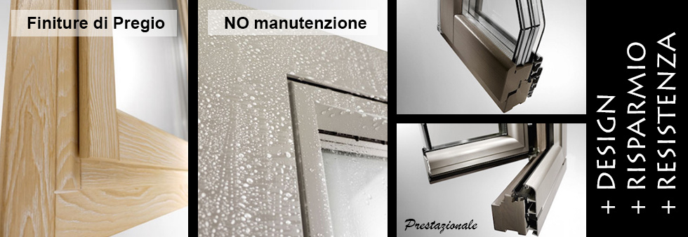 Listino prezzi finestre in legno alluminio for Finestre legno alluminio prezzi