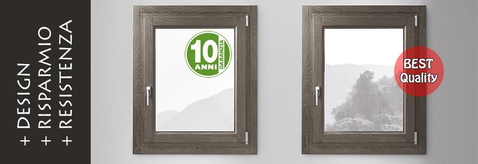 Listino prezzi finestre eleganti legno alluminio for Prezzi serramenti legno alluminio