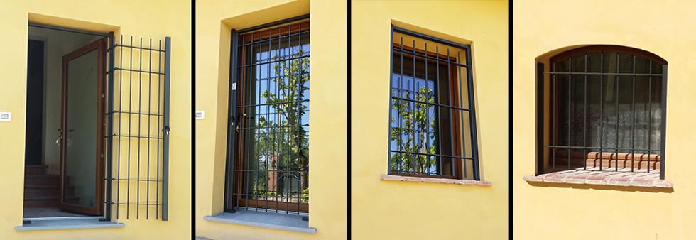 Inferriate per finestre prezzi pannelli termoisolanti - Grate di sicurezza per finestre ...