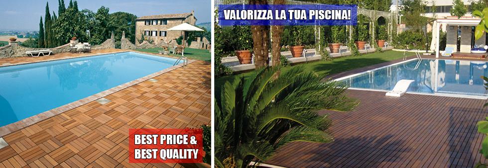 Listino prezzi pavimento in legno per esterni for Piscine miglior prezzo