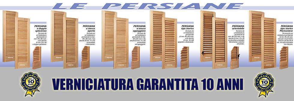 Listino prezzi persiane in legno for Persiane in legno grezze