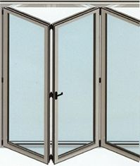Preventivo finestra in alluminio taglio termico apribile a - Porte finestre a libro ...