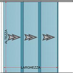 Porta Scorrevole A Tre Ante.Preventivo Porta In Vetro Scorrevole 3 Ante Telescopiche Bologna